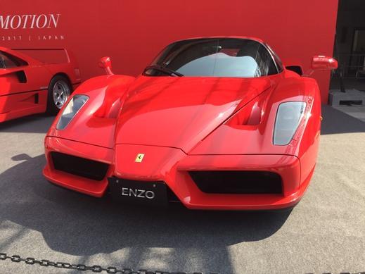 フェラーリ70周年記念日本イベントについて
