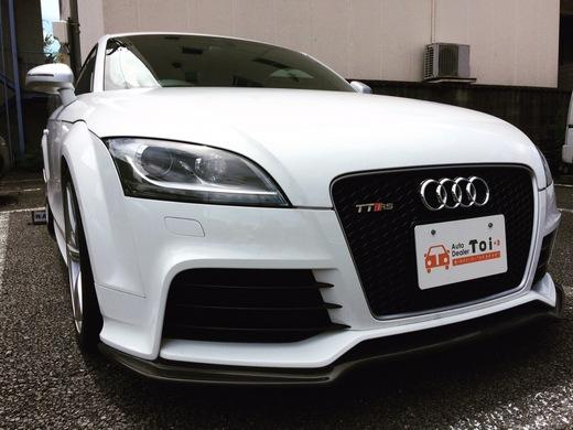 Audi TTRS入荷しました。